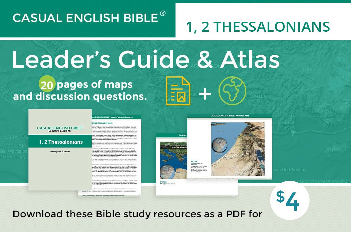 Promo Acts leader's guide and atlas