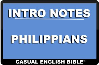 link to intro notes for Philippians