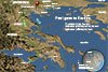 Map of Paul traveling in Greece copyright Stephen M Miller
