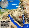 Map of Mt. Sinai and Petra Stephen M. Miller