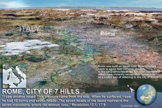 map of Rome copyright Stephen M. Miller